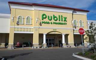 2. Publix Super Markets (108) -- 158,000 employees