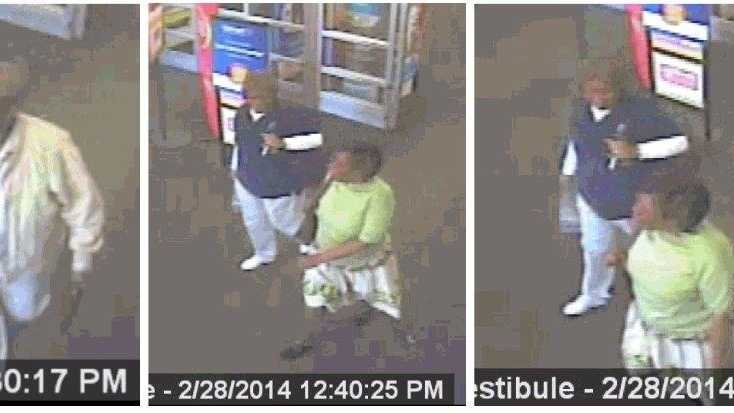 Surveillance video of the people believed to have scammed an elderly woman outside an Ormond Beach Walmart.
