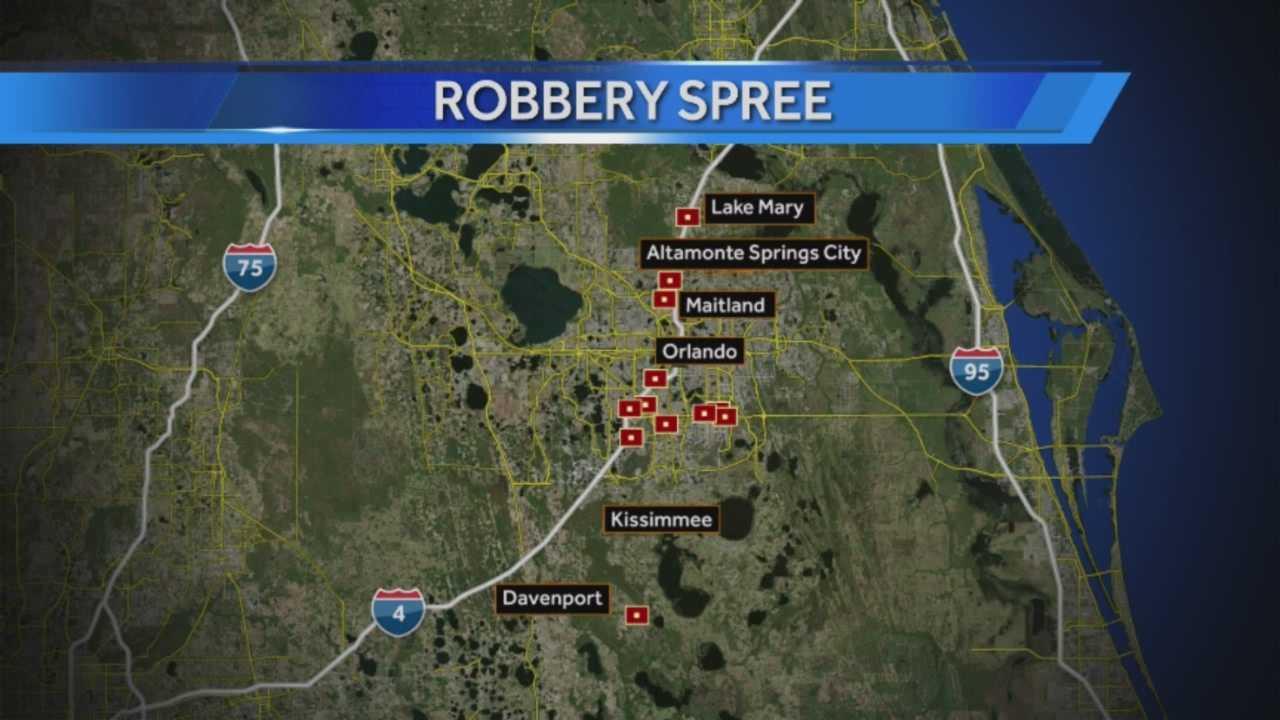 Orlando Hotel Robbery