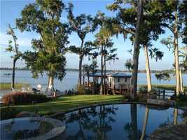 Unbelievable view of the lake from the home's pool, jacuzzi, or lake deck.