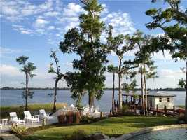 The outdoor amenities provide for a luxurious lifestyle by the shore.