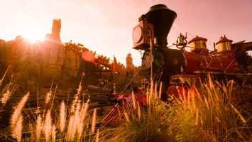 8: Big Thunder Mountain Railroad- 35mph