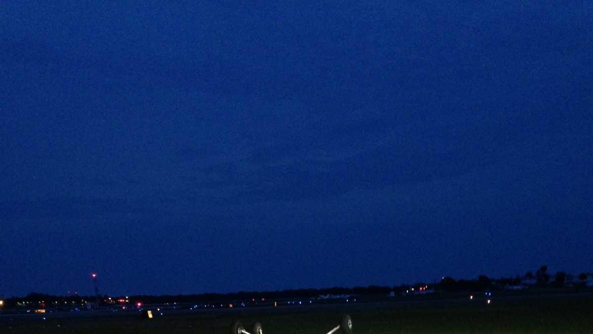 plane flipped courtesy John Murray, Daytona Beach International Airport.jpg