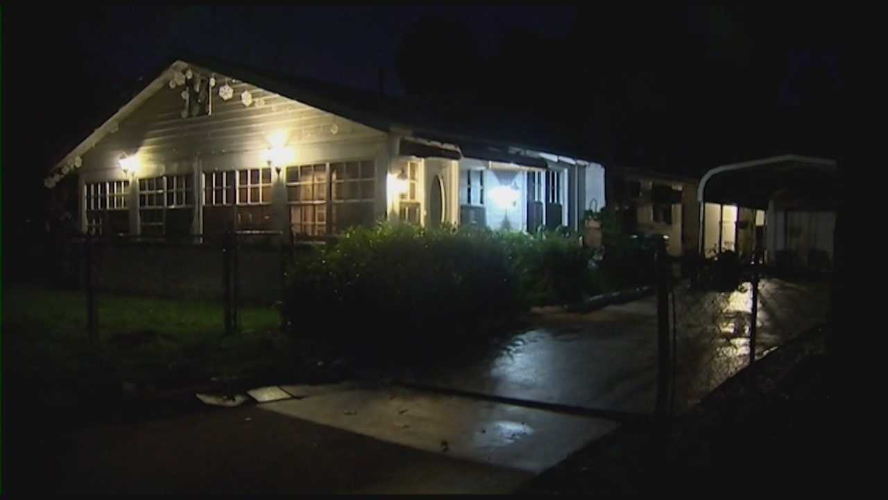 The Mayor of Daytona Beach is glad his mother is safe tonight after she caught a man breaking into her home.