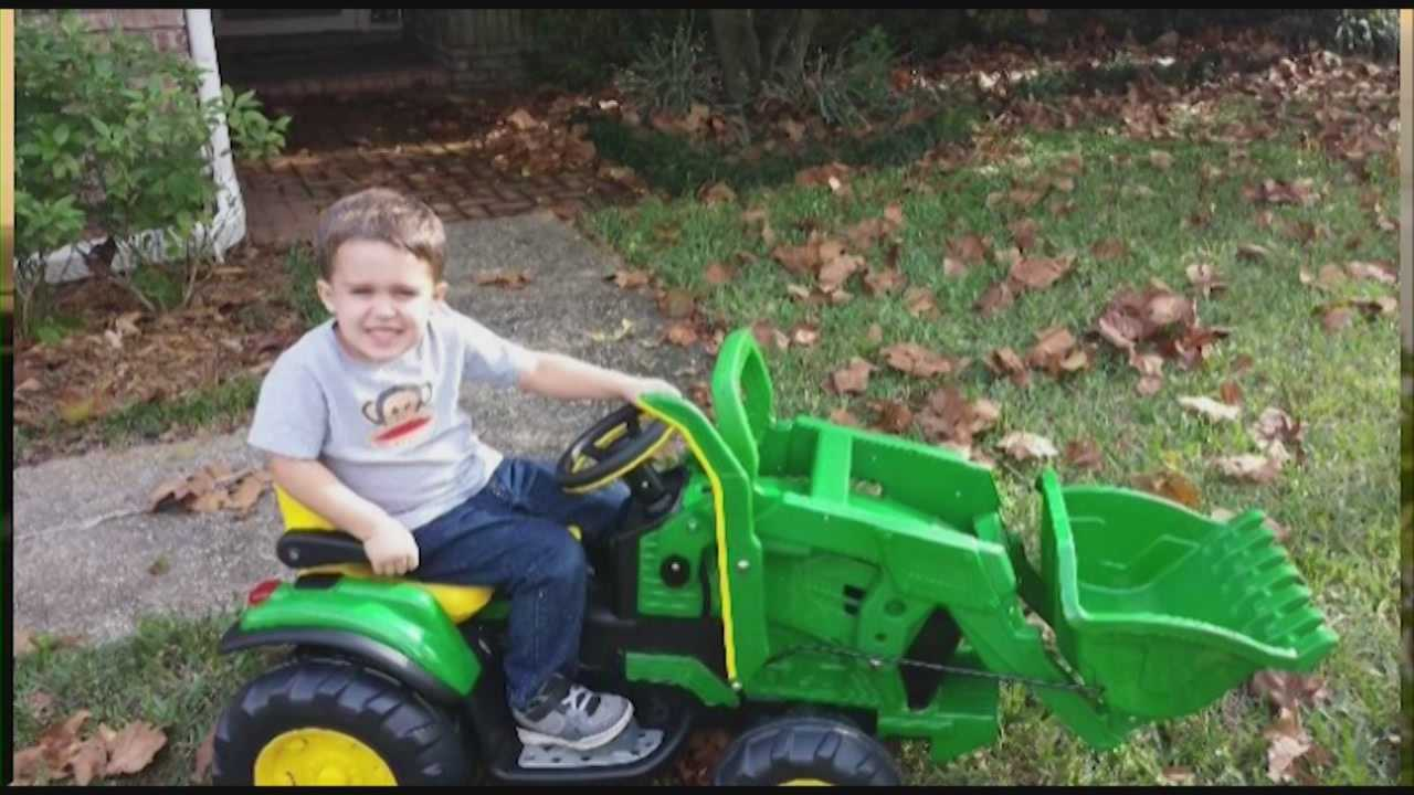One of the children injured in last week's deadly day care crash went home Wednesday.