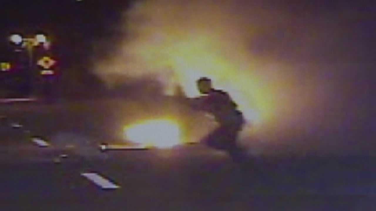 PD: Man dies in fiery crash, explosion in Daytona Beach Shores
