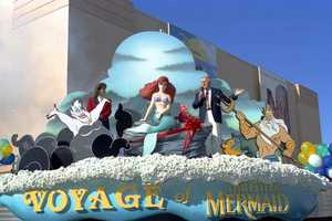 The grand opening of the Voyage of The Little Mermaid.