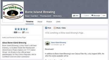 Bone Island Brewing - 1111 Eaton Street, Key West