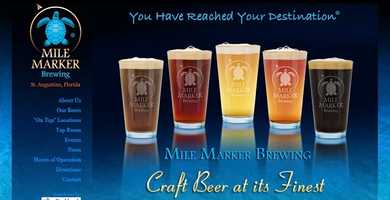 Mile Marker Brewing - 3420 Agricultural Center Drive, St Augustine