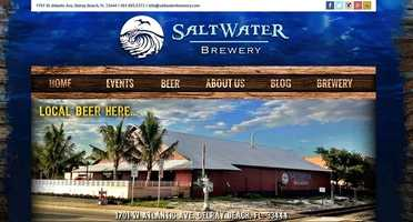 Saltwater Brewery - 1701 West Atlantic Avenue, Delray Beach