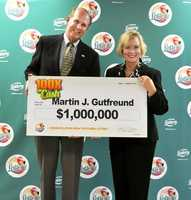 Martin Gutfreund, of Bradenton, won $1 million on a scratch-off.