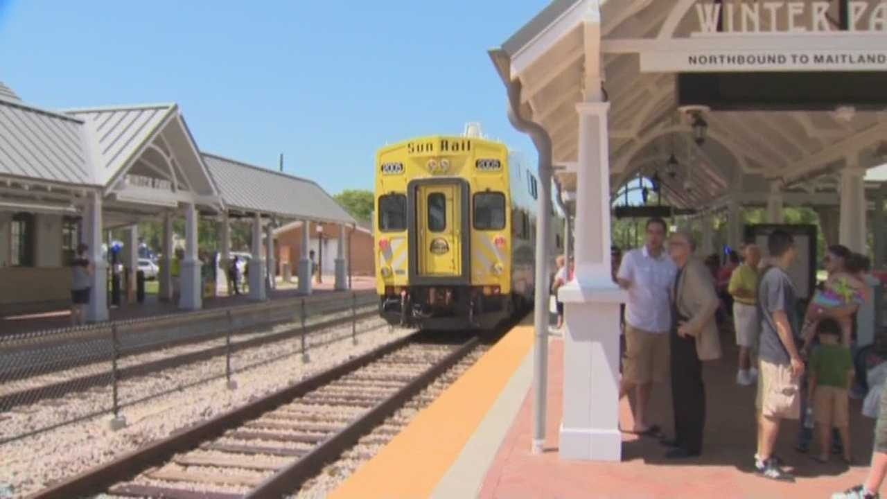 Large crowds prompt SunRail to add chase trains