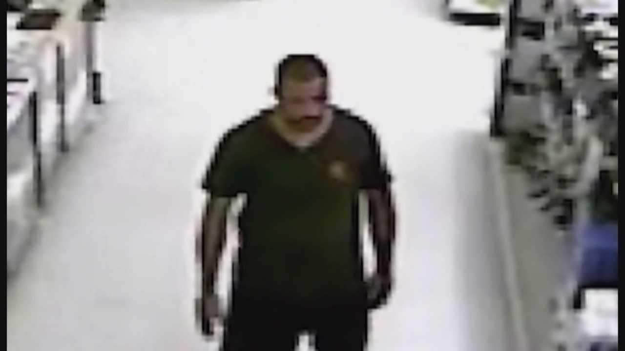 Police say a man exposed his genitals to an 11-year-old and her grandmother inside a Walmart in Orlando on Monday.