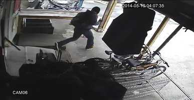 Deputies are searching for two men who robbed The African Store on South Orange Blossom Trail.