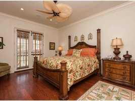 Tropical guest suite.