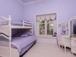 Possible children's bedroom.