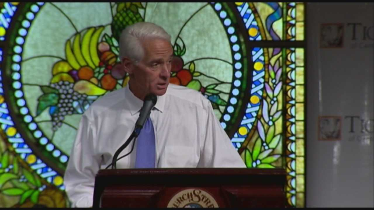 Charlie Crist hammers Rick Scott for educational cuts