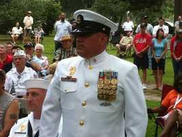 Chief Mark Dell, U.S. Navy.