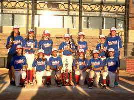 An all-girls baseball team with two members from Central Florida took the championship in a national tournament this weekend -- and their competitors were all boys.