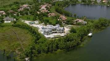 David Siegel's Palace of Versailles home on Lake Butler