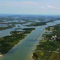 Intracoastal Waterway near New Smyrna Beach