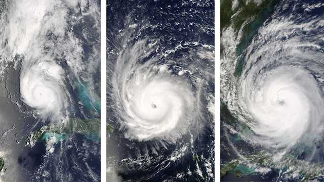 Hurricanes Charley, Frances and Jeanne