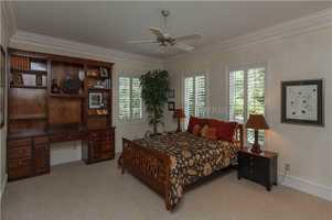 The home's separate apartment has one beautiful bedroom.