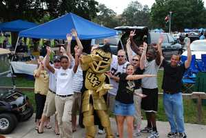 21. Tailgate at a UCF Football game.TIP: Set up at Memory Mall, located in front of the CFE Arena and only about a 10-minute walk to Bright House Networks Stadium. Here fans can watch the Marching Knights Perform, take part in giveaways and take in some of the best tailgate setups.