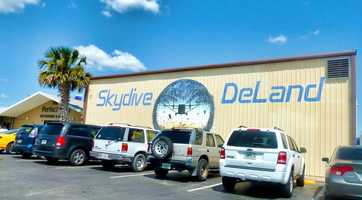14. Go skydiving at Skydive Deland. This place basically invented tandem skydiving.