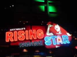 11. Live your dreams of being a rock star by singing with a live band at CityWalk's Rising Star Karaoke.TIP: It's only $7 to get in and there is no charge to sing.