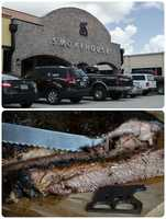 5. Black Bear Smokehouse. The brisket served here is slow smoked for 16-18 hours over a blend of hardwoods. It is dry rubbed in a rub created specifically for their brisket.Hours of Operation:Mon – Sun:  11:00 am-9:00pm18750 US HWY 441, Mount Dora, FL 32757