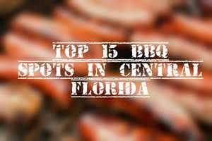 We asked you where to find the best barbecue in Central Florida and you voted.Here are the top 15.