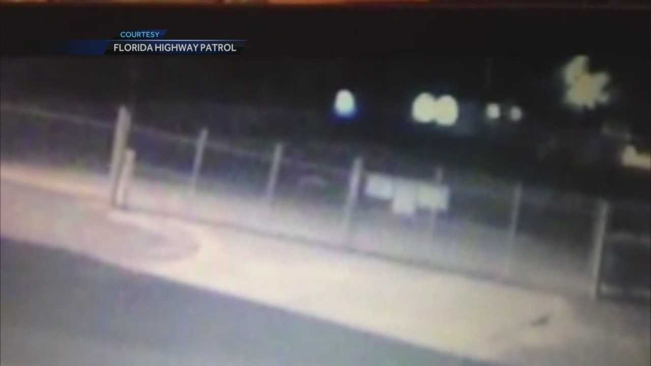 Surveillance video captures deadly pedestrian crash