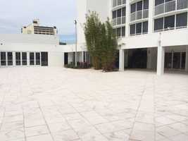 Outdoor terrace and courtyard available for a variety functions.