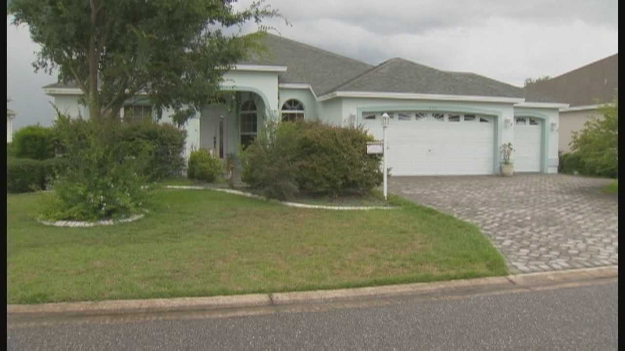 Residents in one neighborhood in The Villages say something has to be done about a retired couple some call squatters.