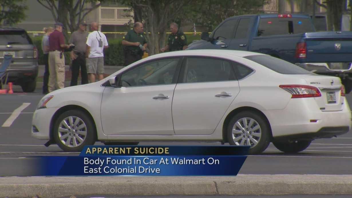 East Orange walmart suicide