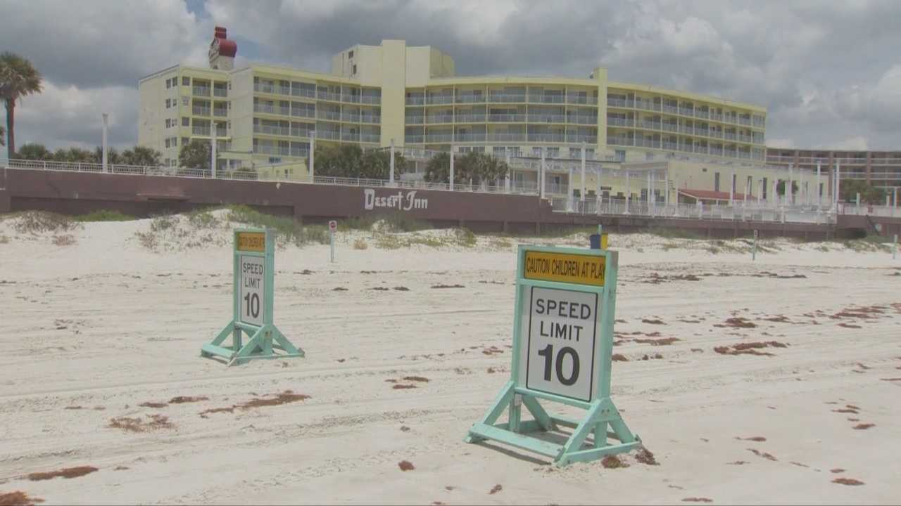 Developers, who plan to turn the Desert Inn on A-1 into a four-star Westin resort, want to eliminate cars on the beach in front of the property.