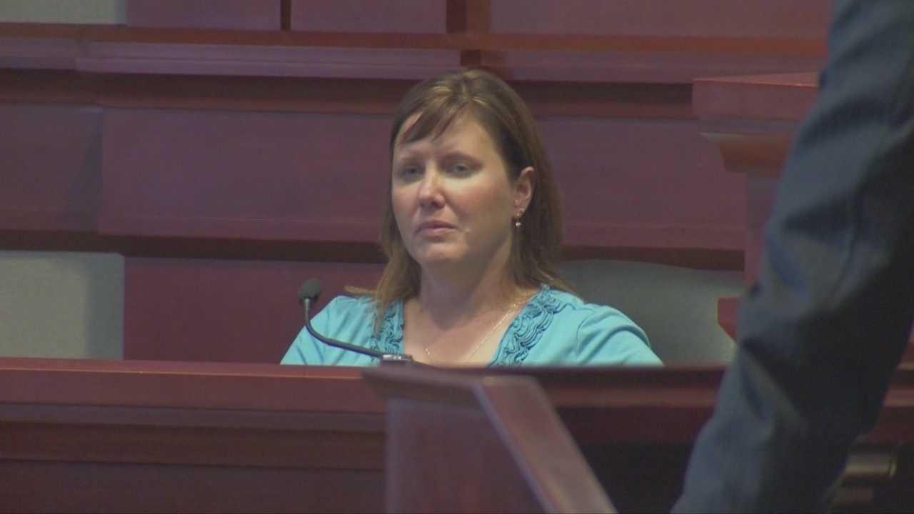Woman run over by beach patrol testifies in trial