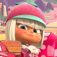 Taffyta Muttonfudge from the 2012 movie Wreck-It Ralph.