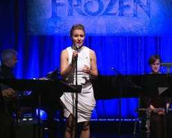 Anna is played by Kristen Bell in the movie Frozen.