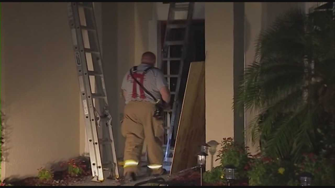 Firefighters in Seminole County are investigating if a lightning strike is to blame for a house fire.