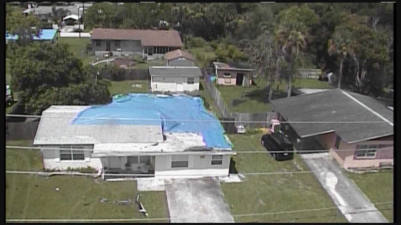 NWS: Tornado touched down in Titusville, caused damage