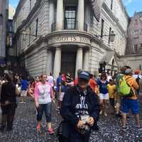 Outside of Gringotts Bank