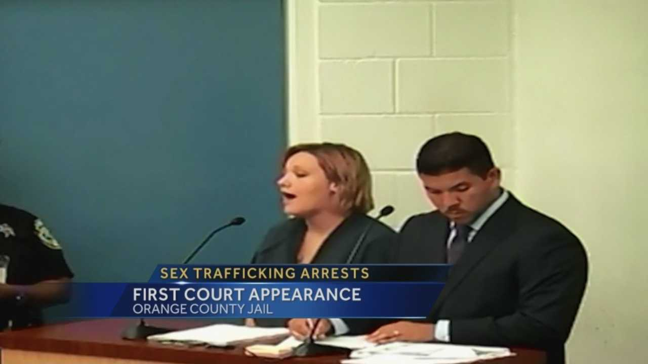 Orlando couple charged in sex trafficking case