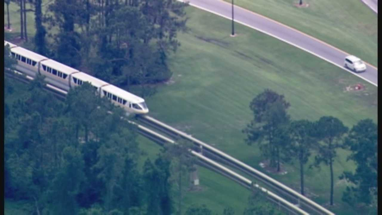 Disney monorail outage believed to be weather related