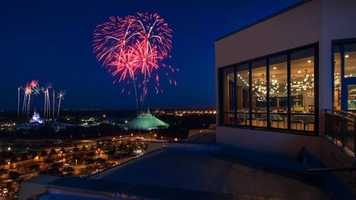 5. If you're looking for a place to watch the Disney fireworks, but aren't in the parks, the observation deck of the California Grill is a great place to go. 4600 North World Drive, Lake Buena Vista, FL 32830