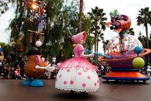 7. Disneyland Park -- Anaheim, Ca.