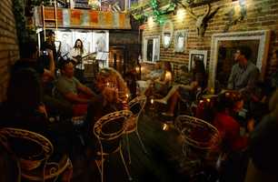 "3. Be sure you ""speak easy"" when you make your reservations for this hidden gem. Located in the oldest building in Downtown Orlando, Hanson's Shoe Repair puts a spin on cocktails while serenading you on the rooftop with special musical performances. 27 E Pine St., Orlando, FL 32801"