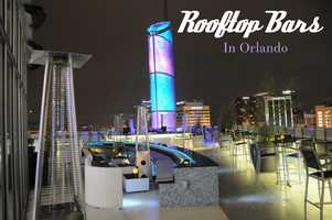 Grab your friends, grab a drink and chill out on one of Orlando's rooftop bars.