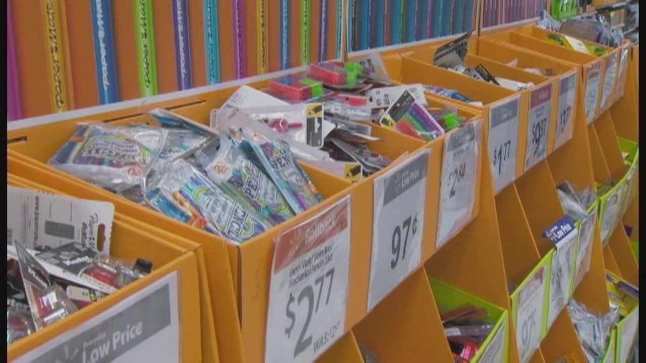 Back to school shopping second busiest weekend for retailers
